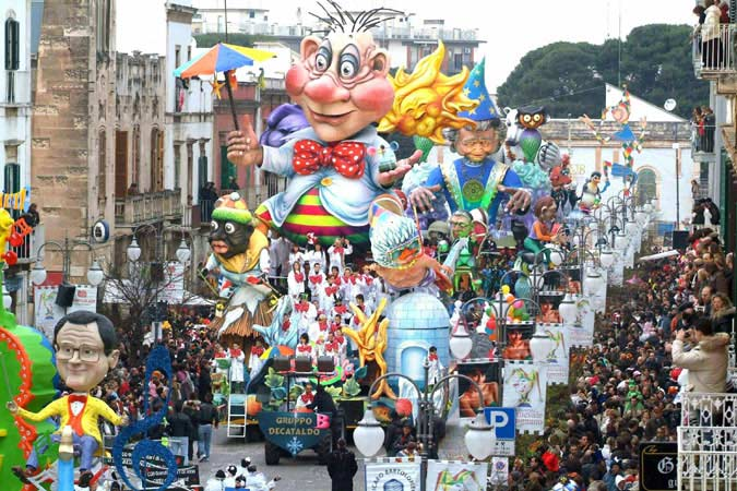 El Carnaval de Putignano 2013