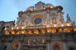 Basílica de la Santa Croce, en Lecce