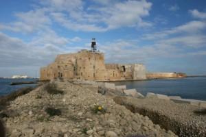 Castillo Aragonés en Brindisi